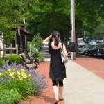 働く女性 街角
